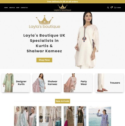 Layla's Boutique UK